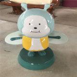 广州户外动物雕塑 玻璃钢卡通牛雕塑新年美陈摆件