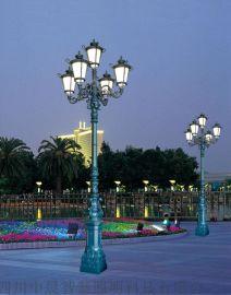 中晨镀锌钢材太阳能庭院灯_旅游景区太阳能庭院灯