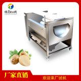 供應紅薯清洗機 毛輥去皮機 土豆脫皮機生產廠家