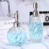 玻璃工厂洗手液瓶乳液分装瓶酒店皂液器沐浴露瓶子透明
