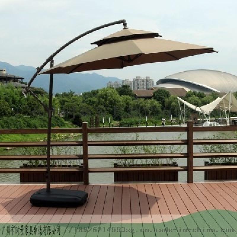 戶外遮陽傘怎麼使用-廣州時景傢俱爲您