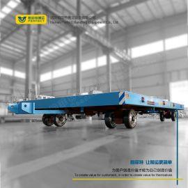 无动力搬运平板车 厂区模具搬运小车 转运胶轮车