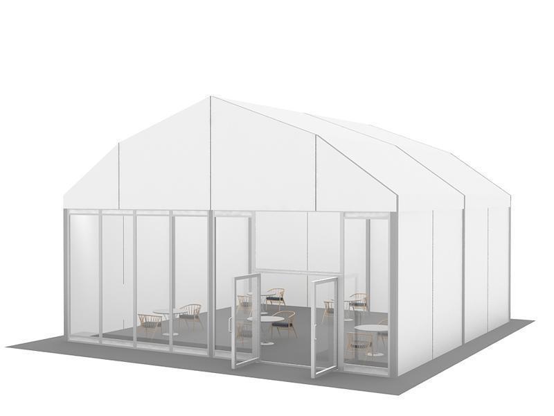 歐式帳篷篷房籃球場帳篷羽毛球館帳篷篷房定製