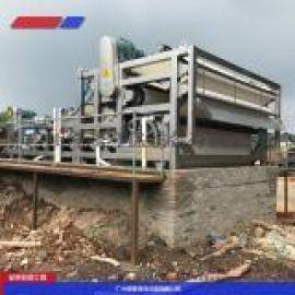 污泥处理 污泥带式压滤机