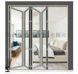 廠家直銷 歐式別墅摺疊門 鋼化玻璃隔音鋁合金摺疊門