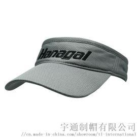 帽子定制运动logo刺绣遮阳帽透气空顶帽定制
