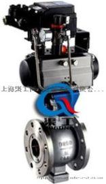 VQ647气动V型球阀、气动V型调节球阀