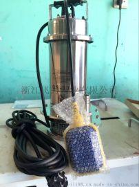 小型家用水泵清水泵不锈钢潜水泵
