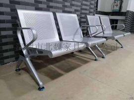 三角款钢制医院公共场合休息椅