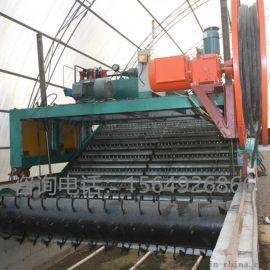 有机肥生产线设备链板式翻抛机