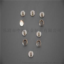 非标订制管状铆钉环保黄铜管状铆钉圆头空心管状铆钉