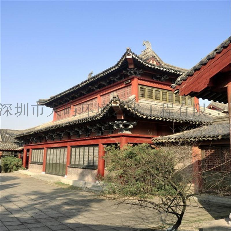 佛殿寺庙宫殿古建筑设计装修装饰