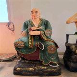 昌东寺庙铜雕十八罗汉厂家 铸铜十八罗汉雕塑厂家
