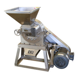 山东和立不锈钢化工粉碎机械,小型水冷化工粉碎机