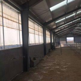 牛場卷簾篷布,升降遮雨布