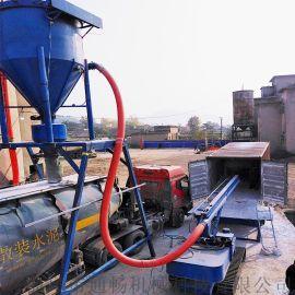 机械臂进仓自动吸料设备地库结块粉煤灰搅拌抽送机