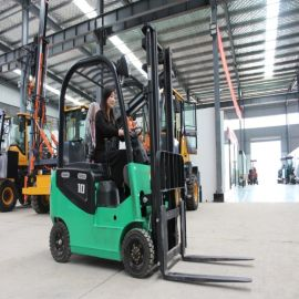 四轮座驾式电动叉车 1吨1.5吨2吨液压充电堆高搬运车