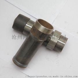 沧州管道基地生产多规格桥梁桩基用声测管、注浆管