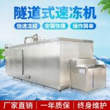 垂直送風隧道速凍機 【水準送風】魚塊隧道速凍機