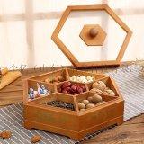 實木乾果盒中式仿古結婚喜糖果盒