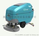 工業洗地機租賃-坦能T600e大型手推式洗地機