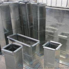 江苏1.2mm环保镀锌共板法兰风管金属白铁皮矩形共板法兰风管