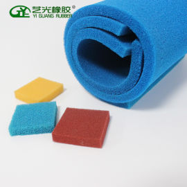 耐高温硅胶海绵 开孔透气硅胶海绵硅胶发泡海绵可定制