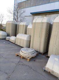 定制污水处理化粪池玻璃钢雨水过滤罐