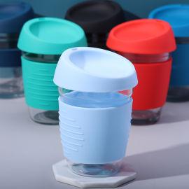 硅胶咖啡杯 防烫耐高温咖啡杯 办公户外水杯