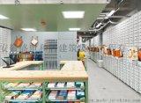 合肥中性風包店裝修設計,工業風包包店