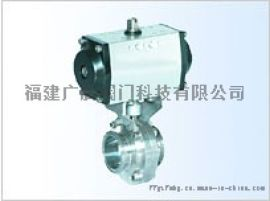 福建厦门气动阀门生产厂家D681X气动卫生球阀