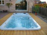 蒙娜丽莎酒店泳池,一体式维护更方便