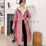 中長款羽絨服女2020冬季簡約氣質大方保暖外套