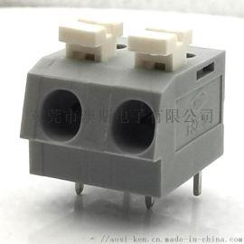 kf202接线端子5.0MM间距免工具连接器