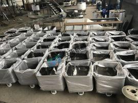 直销304不锈钢标准桶车肉食厂屠宰厂车间周转车定制