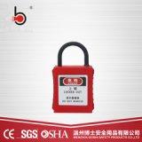 绝缘尼龙细短梁工程塑料壳安全挂锁BD-G71ND