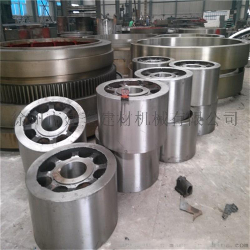 2.2米中小型铸钢材质烘干机轮带