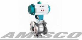 美国AMISCO进口气动V型球阀