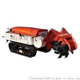 捷克履带式果园开沟机 自动施肥回填机 一机多功能
