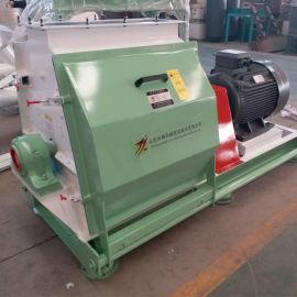 玉米芯锤片式粉碎机大型110KW高功率粉碎设备