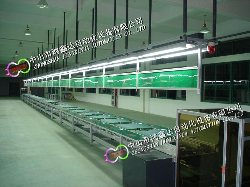 佛山显微镜装配线生产线显示仪自动老化线