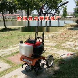 农用微型除草机4  小型除草机松土机自走式割草机