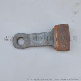 铸造合金高锰钢锤头各种高耐磨破碎机配件