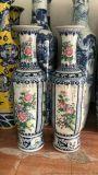 供應景德鎮粉彩花鳥陶瓷大花瓶 家居擺設大花瓶收藏品