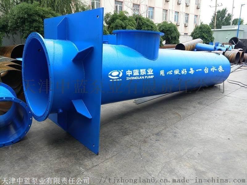 潜水轴流泵悬吊式1400QZB-70不锈钢定制
