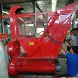 拖拉機帶動的秸稈回收機,帶料倉秸稈回收粉碎機