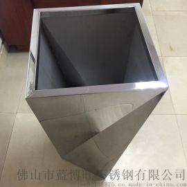佛山蓝博旺供应304不锈钢定制花盆 镜面花盆