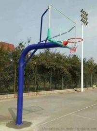 厂家直销低价供应 圆管地埋篮球架