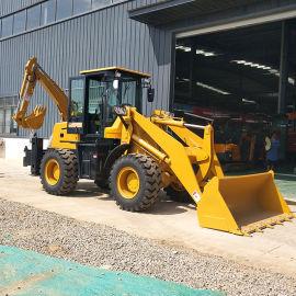 小型装载挖掘两用机械 建筑工程机械两头忙
