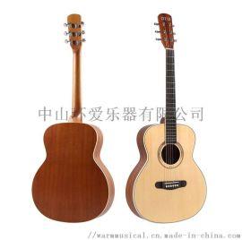 奥司牌36寸儿童吉他旅行吉他